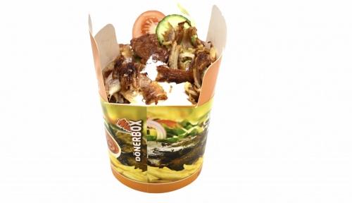 Döner-Box mit Salat