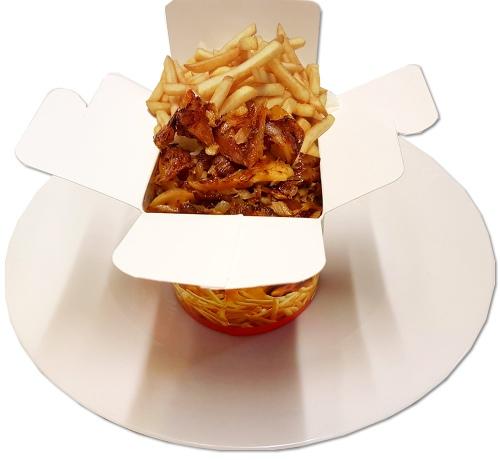 Döner-Box mit Pommes